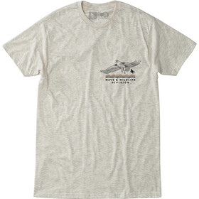 Hippy Tree Wingtip Camiseta Hombre, heather natural